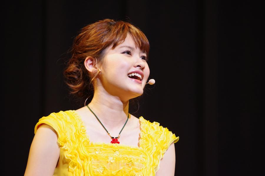 『レ・ミゼラブル』や『ミス・サイゴン』など多数のミュージカルに出演する昆夏美