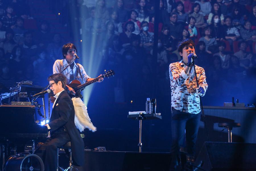 KANとスキマスイッチ・大橋卓弥の貴重なセッション(2月12日・大阪城ホール)