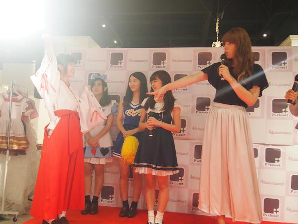 梅田ジョイポリスのアイドルユニット「Kiss Bee」にIVANがファッションチェック