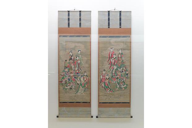 《十八天図》1763年(宝暦十三)頃 茂松寺
