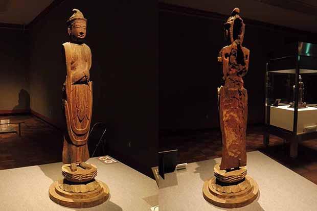 内繰りの様子がよく分かる《観音菩薩立像》平安時代(12世紀)滋賀・櫟野寺