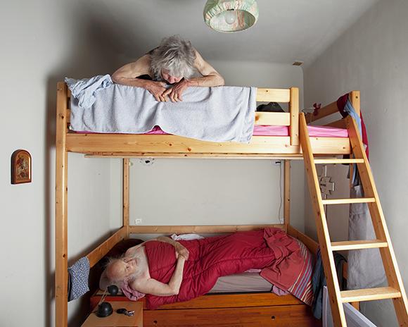 ハンネ・ファン・デル・ワウデ《エミーとベン》アルルスーテック村、フランス、2011年 © Hanne van der Woude