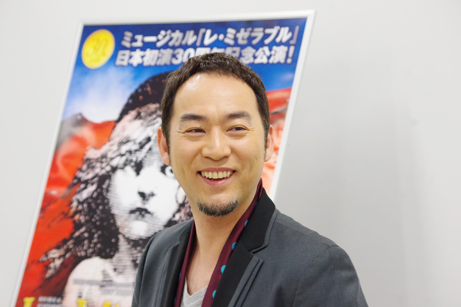 「大阪のお客さんはあたたかい。元気をもらえます」と福井