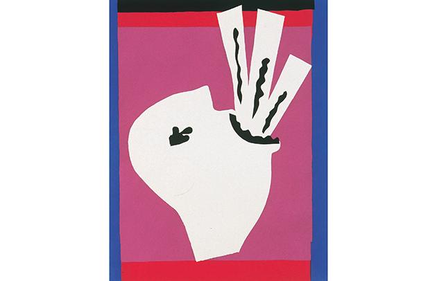 アンリ・マティス《刀飲み》(『ジャズ』より)  1947年 うらわ美術館