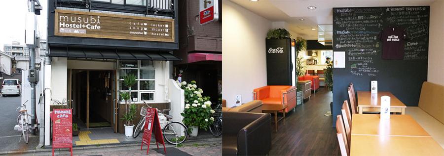 「musubi-cafe」の2号店の外観&内観