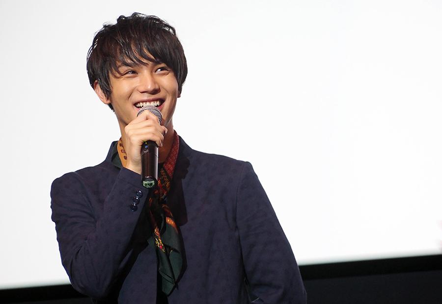 27歳のニートを演じた中川大志は「戸惑いました」と告白(7日・大阪市内)
