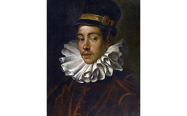 ドメニコ・ティントレット《伊東マンショの肖像》 1585年 ミラノ、トリヴルツィオ財団