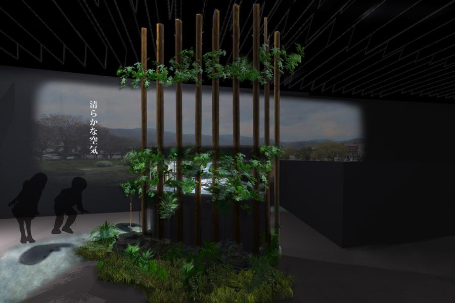 「京の川」エリアに登場する新展示(イメージ)