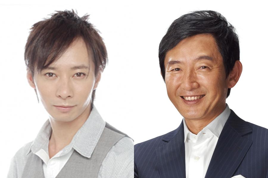左から主演のいしだ壱成、20日にゲスト出演する石田純一