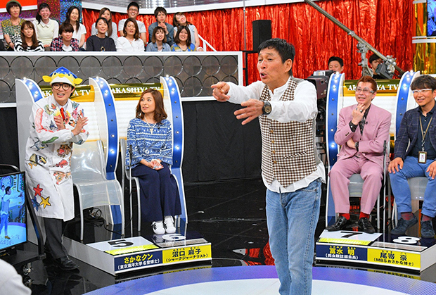 ゲストには、さかなクンをはじめ、京都水族館館長や怪魚ハンター、釣りドルも登場(毎日放送『痛快!明石家電視台』)