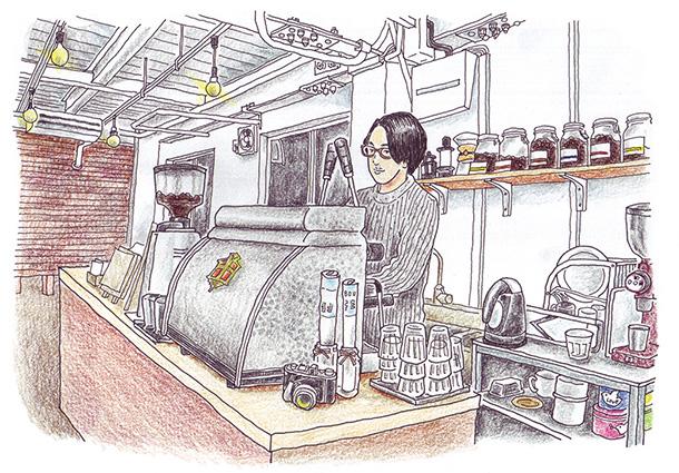ふくろうマークのこだわり自家焙煎コーヒーのお店「ROUND POINT CAFE(ラウンドポイントカフェ)」は5/23〜26に出店