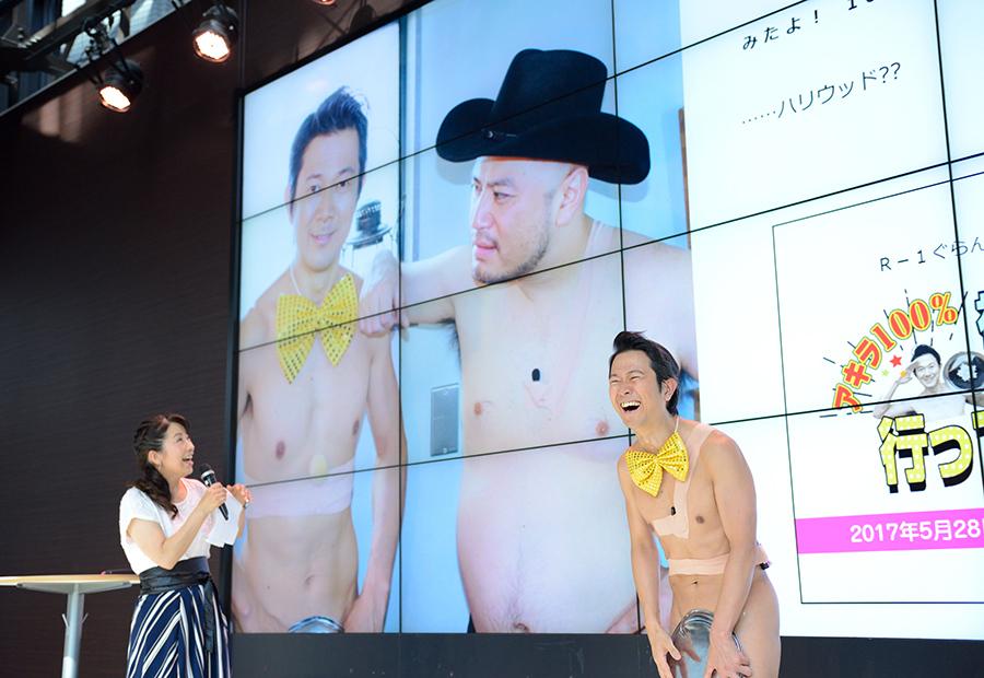 冠番組には前年度チャンピオン・ザコシショウも登場するという(14日・大阪市内)