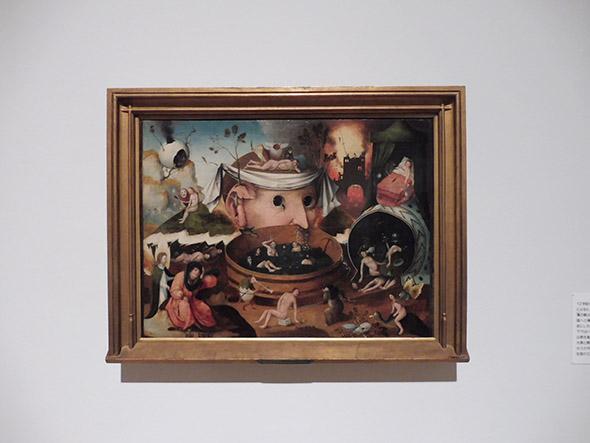 ヒエロニムス・ボス工房《トゥヌグダルスの幻視》1490-1500頃 ラサロ・ガルディアーノ財団(マドリード)蔵 ©Fundación Lázaro Galdiano