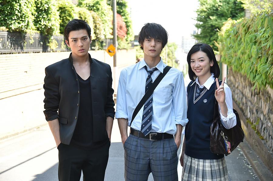 左から、新田真剣佑、窪田正孝、永野芽郁(新ドラマ『僕たちがやりました』より)