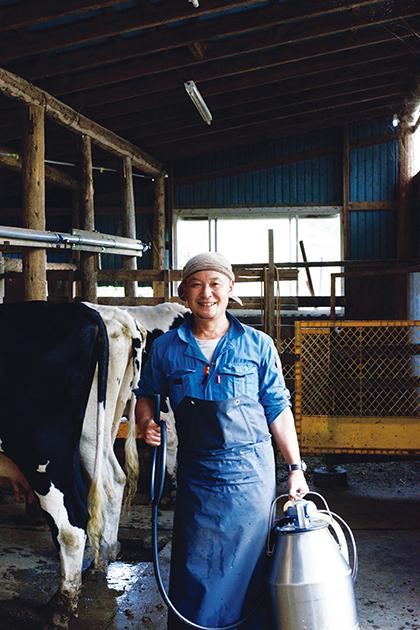 岩手県宮古市田老地区で「しあわせ牧場」を営む佐藤 力さん