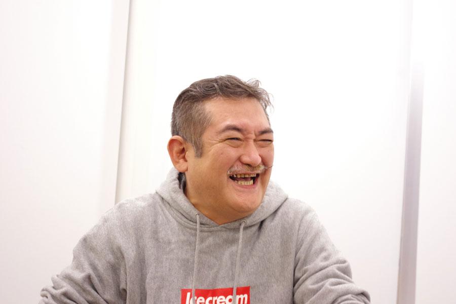 作・演出家・俳優の後藤ひろひと