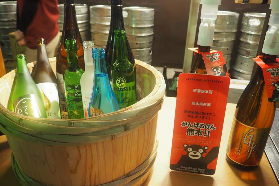 今年は新たに「にっぽんのお酒」カウンターが新設。いろんなお酒を飲み比べできる