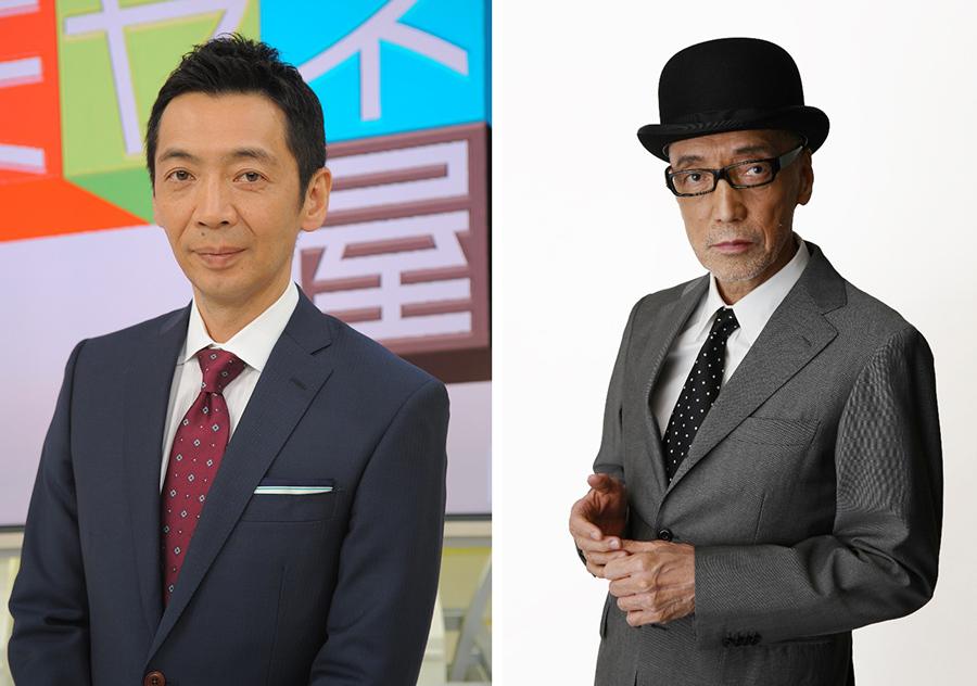 『情報ライブ ミヤネ屋』MCの宮根誠司(左)とテリー伊藤