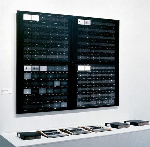 野村仁《'moon'score》1975-1979 東京国立近代美術館蔵 ※参考作品