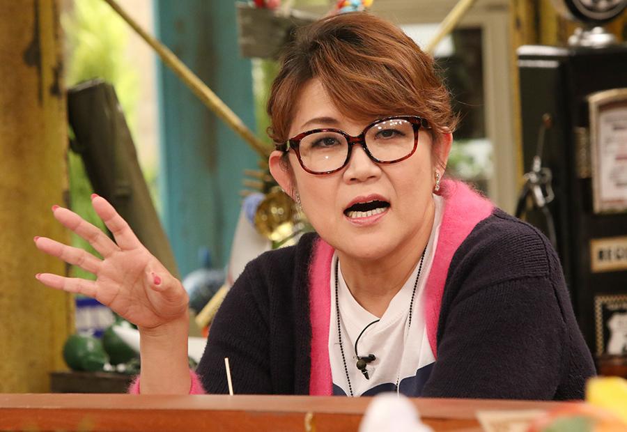 バラエティ番組『おかべろ』に出演した山田邦子