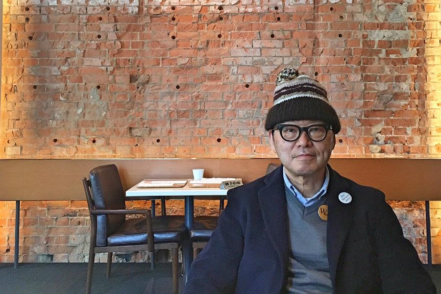 書籍『東京ひとり歩き ぼくの東京地図』著者の岡本仁さん