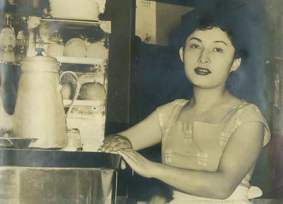1948年(昭和23年)創業当時の写真