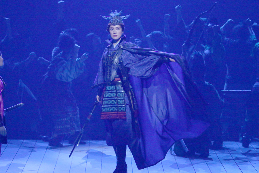 舞台『蒼の乱』より 撮影:田中亜紀