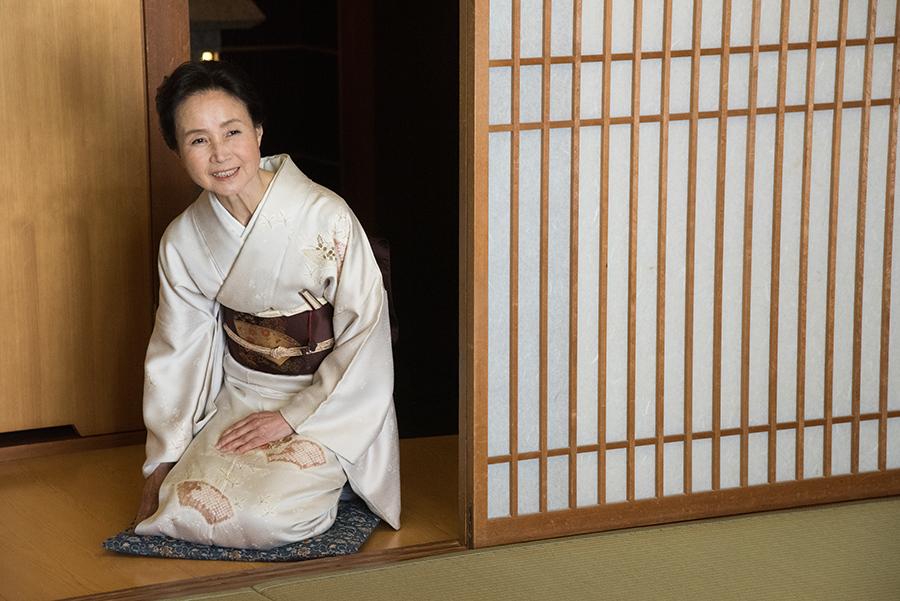 映画『八重子のハミング』より女優・服部妙子 © Team「八重子のハミング」