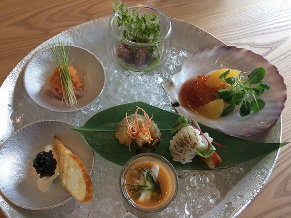 シーフードレストラン「C:GRILL」の料理イメージ