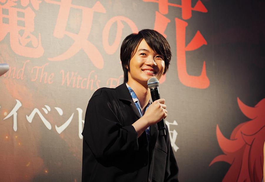 映画『メアリと魔女の花』イベントに登場した神木隆之介(28日・大阪市内)