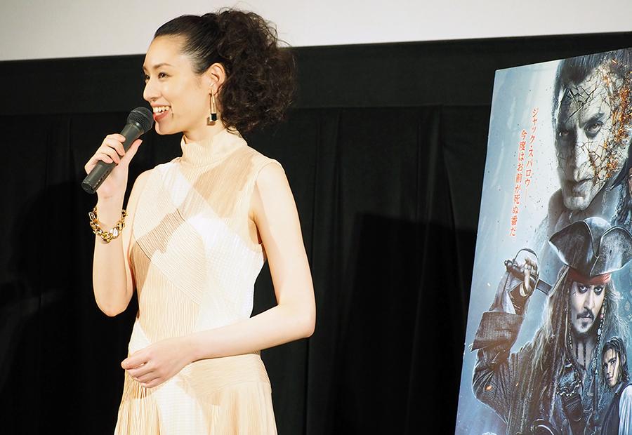 世界初の4D上映に、栗山千明も思わず「ズルい。うらやましい」(21日・大阪市内)