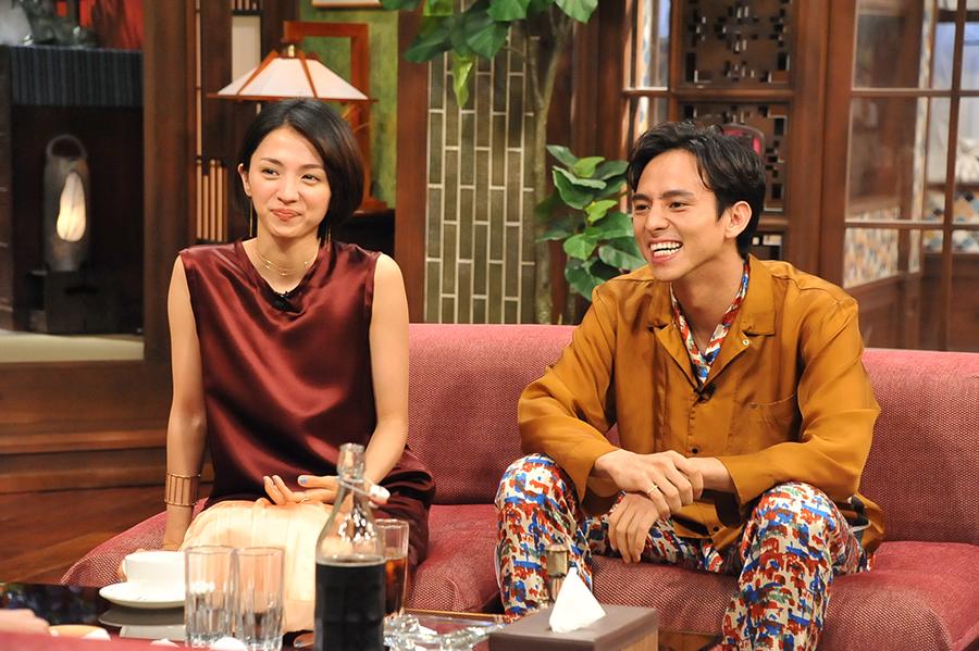 『さんまのまんま 初夏に大笑いしましょかSP』にゲストで登場した満島ひかり・満島真之介の姉弟