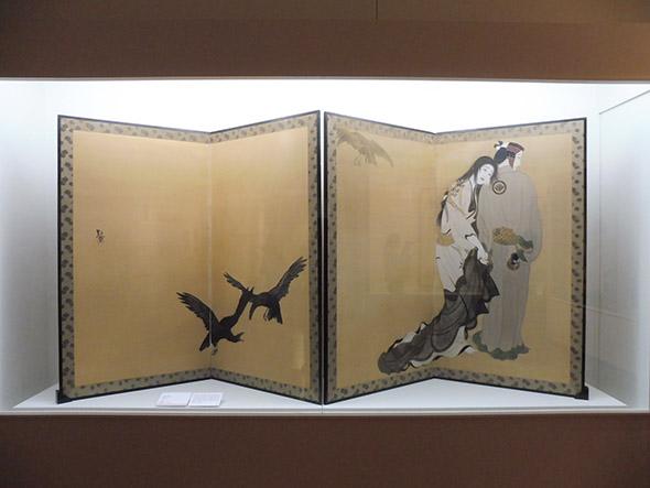 北野恒富《道行》大正二年(1913)頃 福富太郎コレクション資料室