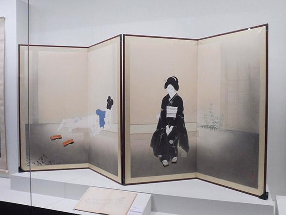 北野恒富《いとさんとこいさん》昭和十一年(1936) 京都市美術館