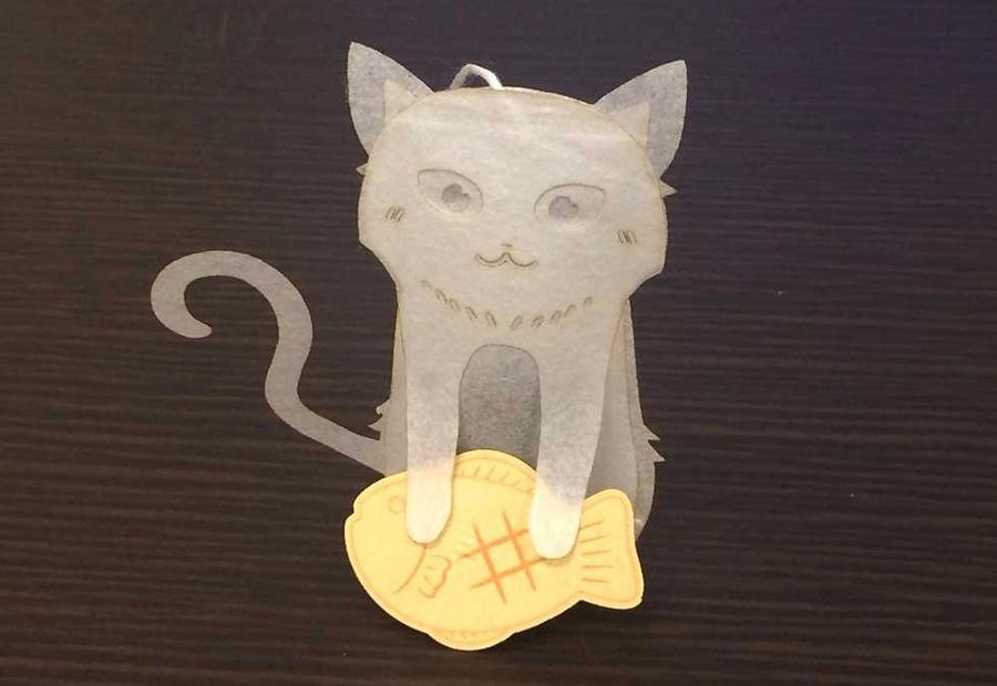 パン職人猫のティーバッグ(アールグレイクラシック)