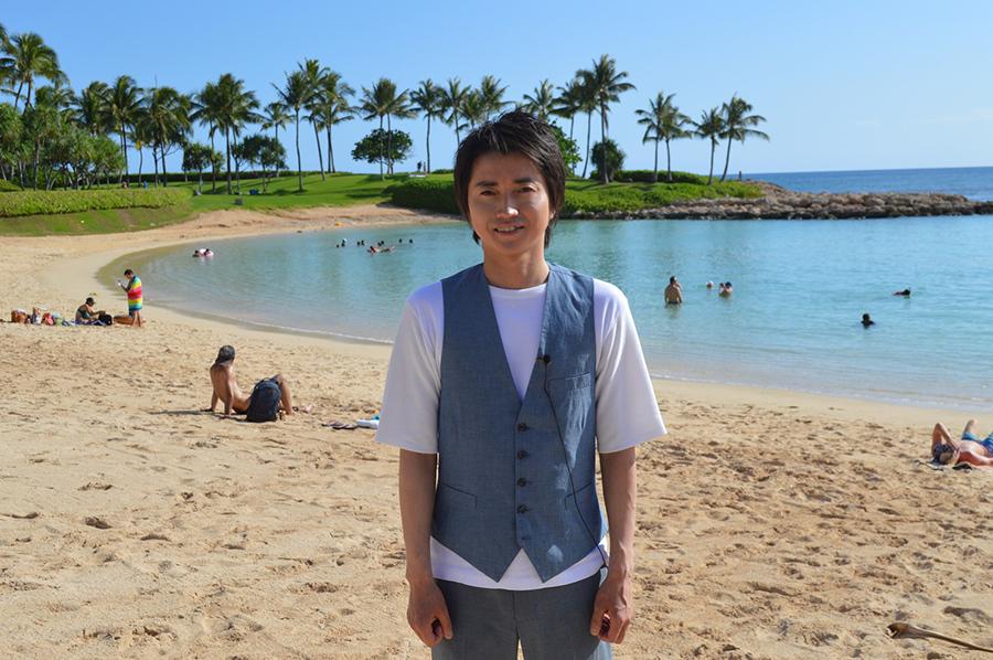 ファンクラブイベントでハワイを訪れた俳優・藤原竜也
