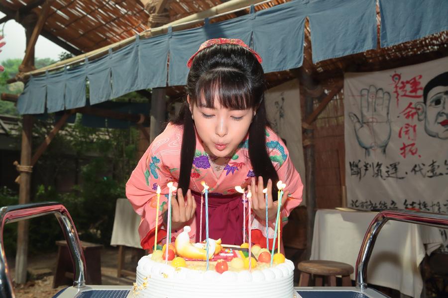 この日、10代最後となる19際の誕生日を迎えた葵わかな