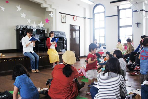 子どもと一緒に観劇できる朗読劇 写真/SENA