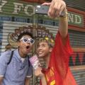 浜田とりゅうちぇるがインスタにアップするカワイイ写真を撮りまくる