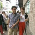 相方は元AKB48の篠田麻里子。浜田と篠田は大阪のニューヨークへ行こうということで、堺筋本町や梅田にあるニューヨークへ向かうが・・・