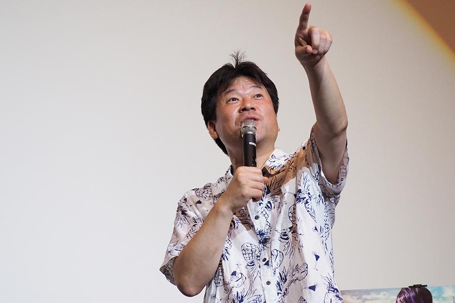 赤ら顔で登場した佐藤二朗は冒頭からハイテンション(15日・大阪市内)