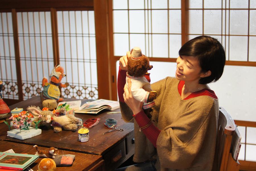 独学で人形制作をはじめた人形作家・Yoko-Bonさん