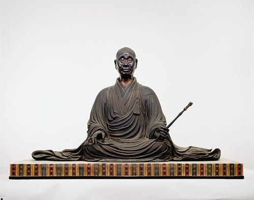 国宝「興正菩薩坐像」 奈良・西大寺、画像提供:奈良国立博物館(撮影:森村欣司)
