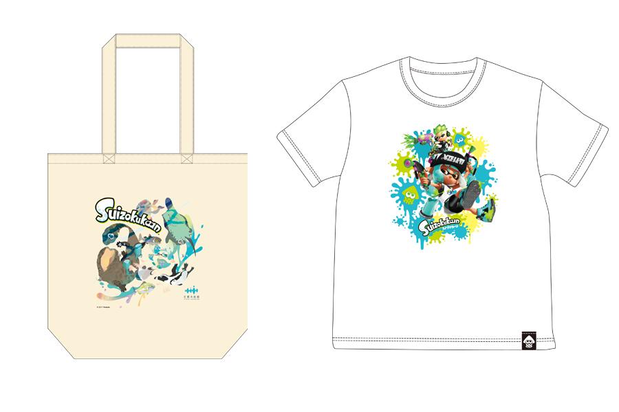 トートバッグ2052円、Tシャツ子ども3780円、大人4104円