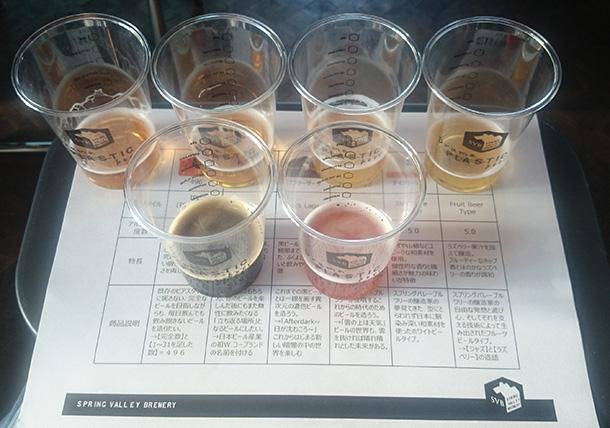 2年以上の月日をかけて開発された6種の定番「SVBコアシリーズ」を試飲