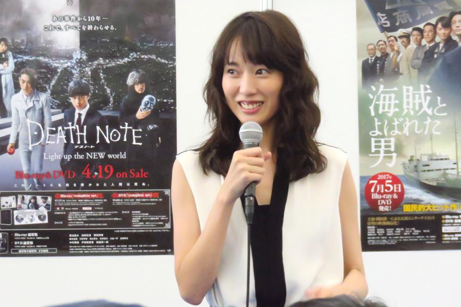 映画『阪急電車』や『DOG×POLICE 純白の絆』など多くの作品で神戸ロケを経験した戸田恵梨香