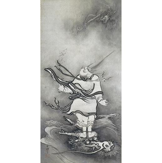 呂洞賓図(りょどうひんず) 重要文化財 一幅 大和文華館蔵 展示:8/1〜20