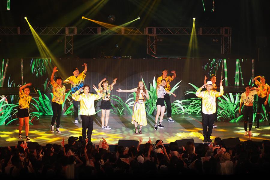 EXILE TETSUYA、EXILE USA、Dream Shizukaによるダンスプロジェクト・DANCE EARTH PARTY
