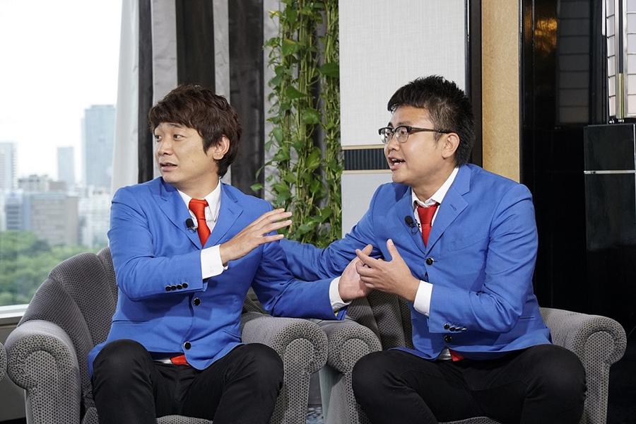 上京してすぐに「東京に帰るわ」と言った銀シャリ・鰻(左)、右は相方・橋本