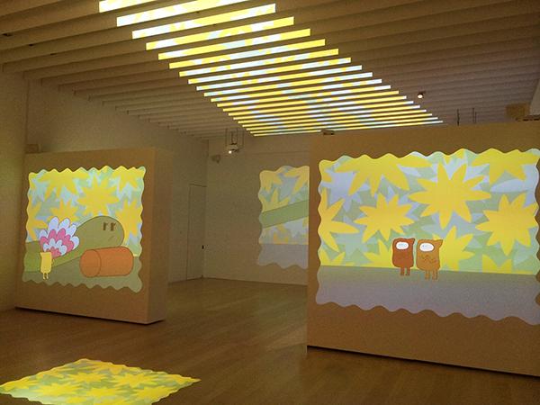 「こどもと美術を楽しみたい!キラキラ、ざわざわ、ハラハラ」より(横須賀美術館) 2014年